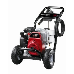 Power Boss 3,000 psi Honda GC190 Gas-Powered Pressure Washer (020309)