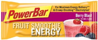 PowerBar Fruit Smoothie Energy Bars, Berry Blast (Pack of 12)