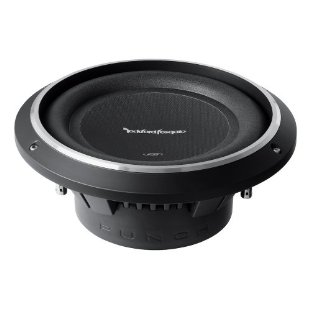 Rockford Fosgate Punch P3 Shallow 10, 300-Watt Subwoofer (P3SD410)