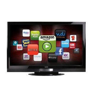 "VIZIO XVT373SV 37"" Razor LED Full HD 1080p LCD HDTV with VIA Internet Apps"