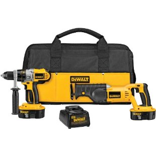 DeWalt DCK251X 18v XRP Hammerdrill/Reciprocating Saw Combo Kit