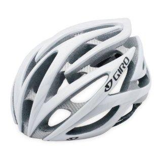 Giro Atmos Helmet (White/Silver, Large)