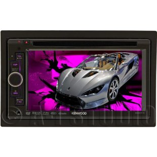 "Kenwood DDX516 6.1"" In-Dash Navigation Ready DVD Receiver"