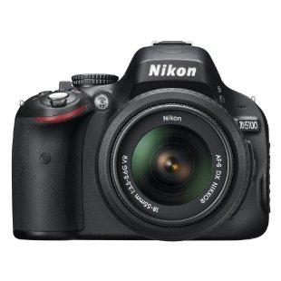 Nikon D5100 16.2MP DSLR Camera with 18-55mm f/3.5-5.6 AF-S DX VR Nikkor Zoom Lens