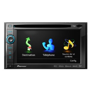 Pioneer AVIC-X930BT 6.1 In-Dash Navigation AV Receiver with iPod/iPhone Control, Bluetooth, Pandora