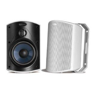 Polk Audio Atrium 4 Outdoor Speakers (Pair, White)