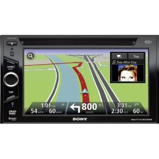 Sony XNV-660BT 6.1 In-Dash Navigation DVD Receiver