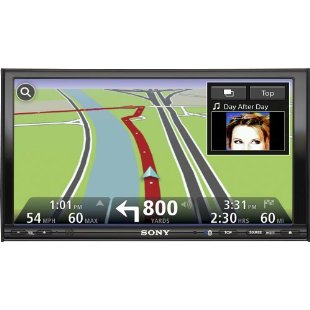 Sony XNV-770BT 7 In-Dash Navigation DVD Receiver