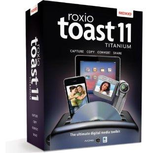 Roxio Toast 11 Titanium (for Mac OS X)