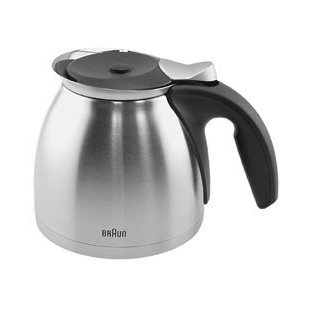 Braun Stainless Steel Thermal Carafe for KF600 Coffee Maker