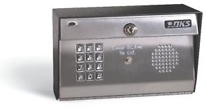 DoorKing 1812 Residential Telephone Entry System Surface Mount with Stainless Face Plate (Dk1812-081)