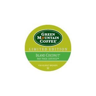 Green Mountain Coffee Island Coconut Fair Trade Certified Limited Edition (24 K-Cups)