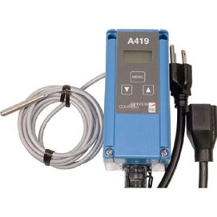 Johnson Controls A419 Digital Thermostat Control Unit