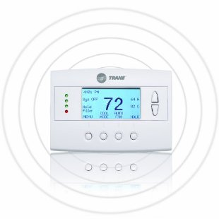 Schlage Trane Z-Wave Enabled Remote Energy Management Thermostat, Schlage LiNK Compatible (TZEMT043AB32MAA, aka TZEMT400AB32MAA)