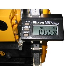 Wixey WR510 Electronic Digital Readout for Planers with Fractions