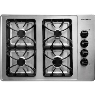 Frigidaire FFGC3015LS 30 Gas Cooktop with 4 Sealed Burners