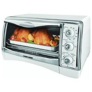 Black & Decker CTO4300W Perfect Broil Oven (White)
