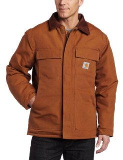 Carhartt Duck Traditional Coat (Men's, Brown)