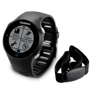 Garmin Forerunner 610 Touchscreen GPS with Premium Heart Rate Monitor Strap (010-00947-10)