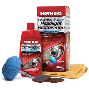 Mothers PowerBall 4Lights Headlight Restoration All-in-One Kit