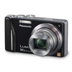 Panasonic Lumix DMC-ZS8 14.1MP Digital Camera with 16x IS Zoom (Black)
