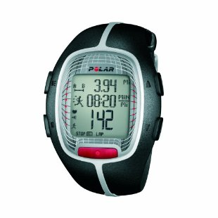 Polar RS300X SD Heart Rate Monitor with S1 Foot Pod (Black)