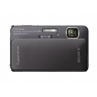 Sony Cyber-Shot DSC-TX10 16.2MP Waterproof Digital Camera with 3D Sweep Panorama and Full HD Video (Black)