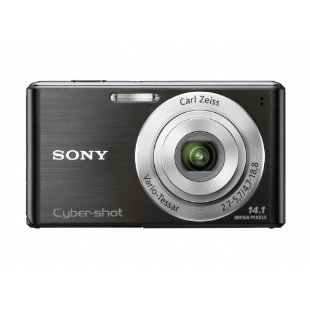 Sony Cyber-Shot DSC-W530 14.1MP Digital Camera with 4x Zoom Lens (Black)