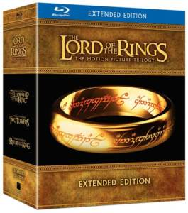 The Lord of the Rings Trilogy (Extended Edition) [Blu-ray]