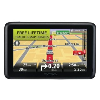 "TomTom GO 2535TM 5""  GPS with Lifetime Traffic & Map Updates"