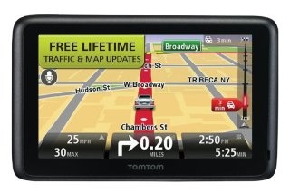 TomTom GO 2535TM WTE (World Traveler Edition) 5 GPS with Lifetime Traffic & Map Updates