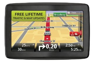 "TomTom VIA 1505TM 5"" GPS with Lifetime Traffic & Map Updates"