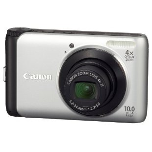 Canon PowerShot A3000IS 10MP Digital Camera with 4x IS Zoom