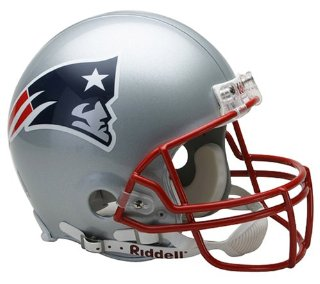 Riddell New England Patriots Authentic NFL Proline VSR4 Helmet