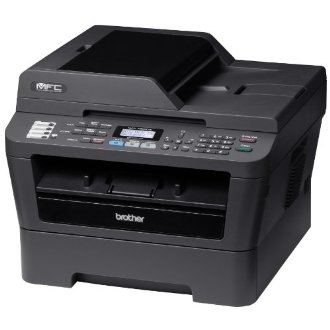Brother MFC-7860DW Wireless Monochrome Printer with Scanner, Copier & Fax