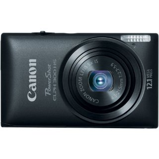 Canon PowerShot ELPH 300 HS 12MP Digital Camera w/ 1080p HD Video (Black)