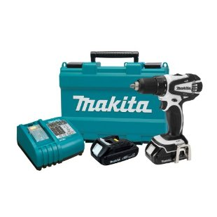 Makita LXFD01CW Compact Lithium-Ion 18V Cordless 1/2 Driver-Drill Kit