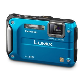 Panasonic Lumix DMC-TS3 12.1MP Rugged/Waterproof Digital Camera with 4.6x IS Zoom (DMC-TS3A, Blue)