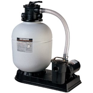 "Hayward S180T93S Pro Series 18"" Top-Mount Sand Filter 1.5 Horsepower Matrix Pump"