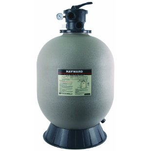 "Hayward S244T Pro Series 24"" Top-Mount Sand Filter with 1.5"" Vari-Flo Valve for In-ground Pools"
