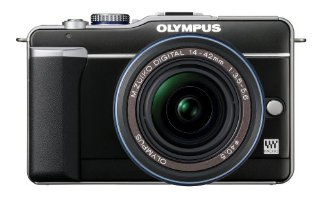 Olympus PEN E-PL1 12.3MP Live MOS Micro Four Thirds Camera with 14-42mm f/3.5-5.6 Zuiko Zoom Lens (Black)