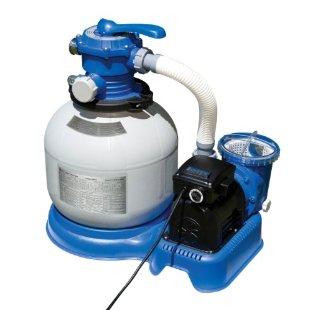 Intex 56673EG Krystal Clear Sand Filter Pump, 1600 GPH with GFCI