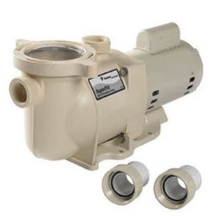 Pentair SuperFlo SF-N1-2A Single-Speed 2HP Standard Efficiency Pool Pump (340040)