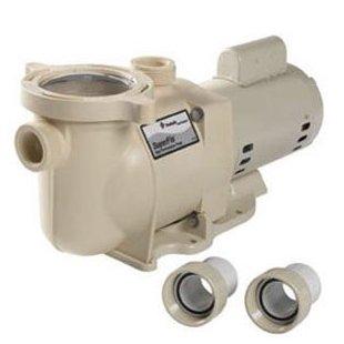 Pentair SuperFlo SF-N1-2A Single-Speed 2HP Standard Efficiency Pool Pump (340040)