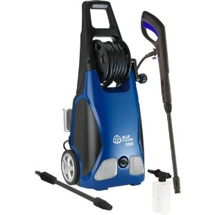 AR Blue Clean 383 Electric Pressure Washer with Hose Reel (1,900 PSI, 1.5 GPM, 11 Amp)