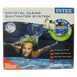 Intex Krystal Clear Saltwater System Saline Chlorinator (54601E)