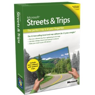Microsoft Streets & Trips 2011 Trip Planning Software (without GPS) [for Windows 7, Vista, XP]