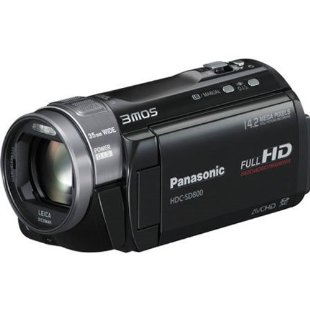Panasonic HDC-SD800K 3D Compatible Camcorder