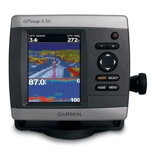 Garmin GPSMAP 431s GPS Chartplotter with Dual Beam Transducer (010-00765-01)