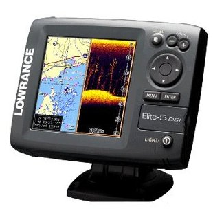 Lowrance Elite-5 DSI DownScan Imaging Chartplotter/Fishfinder